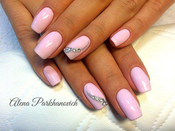 Nail Art #650 - Best Nail Art Designs Gallery - Nail Art #650 - Best Nail Art Designs Gallery Pale Pink Nails