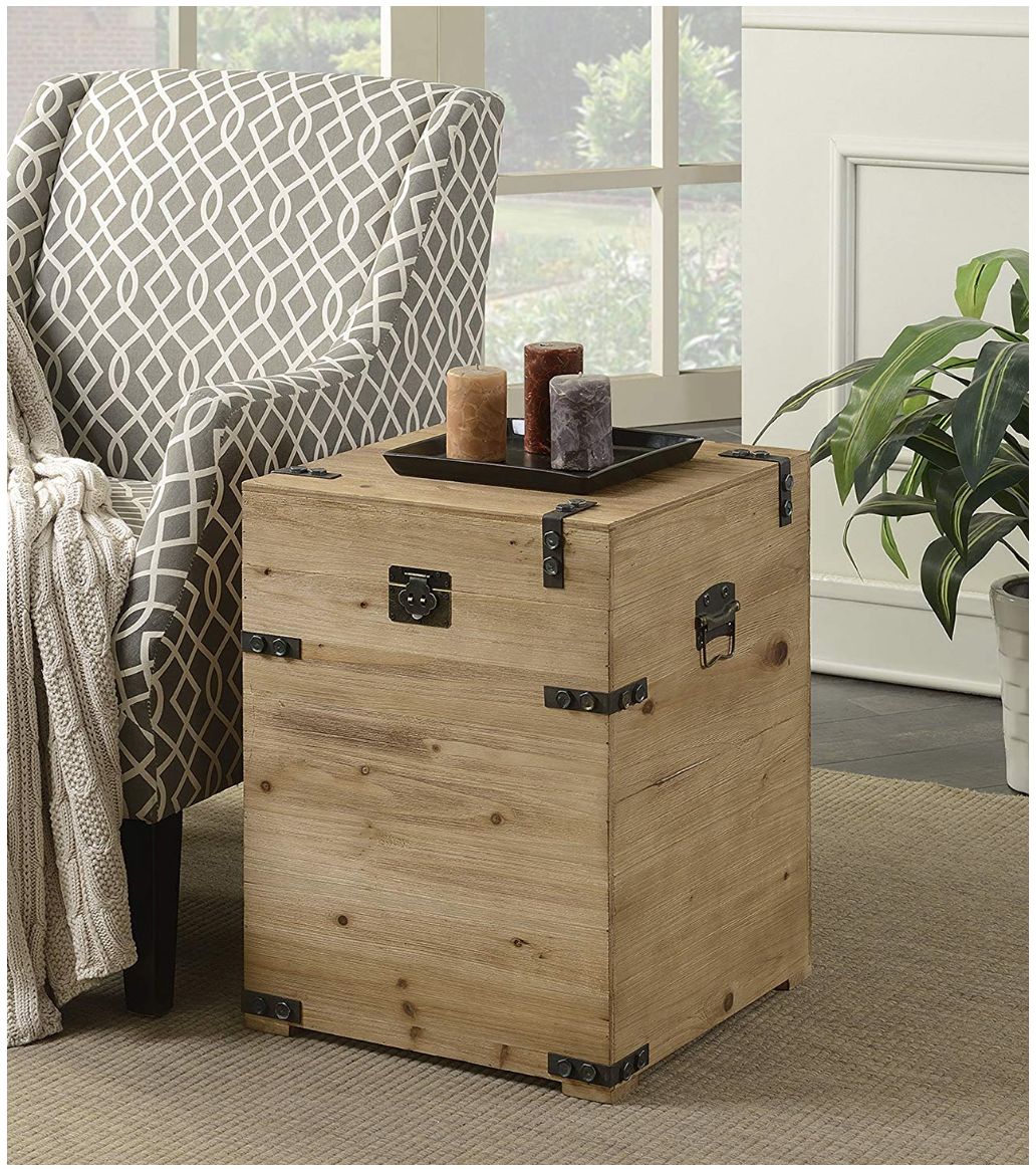 How to use storage trunks for decor in every room of the house