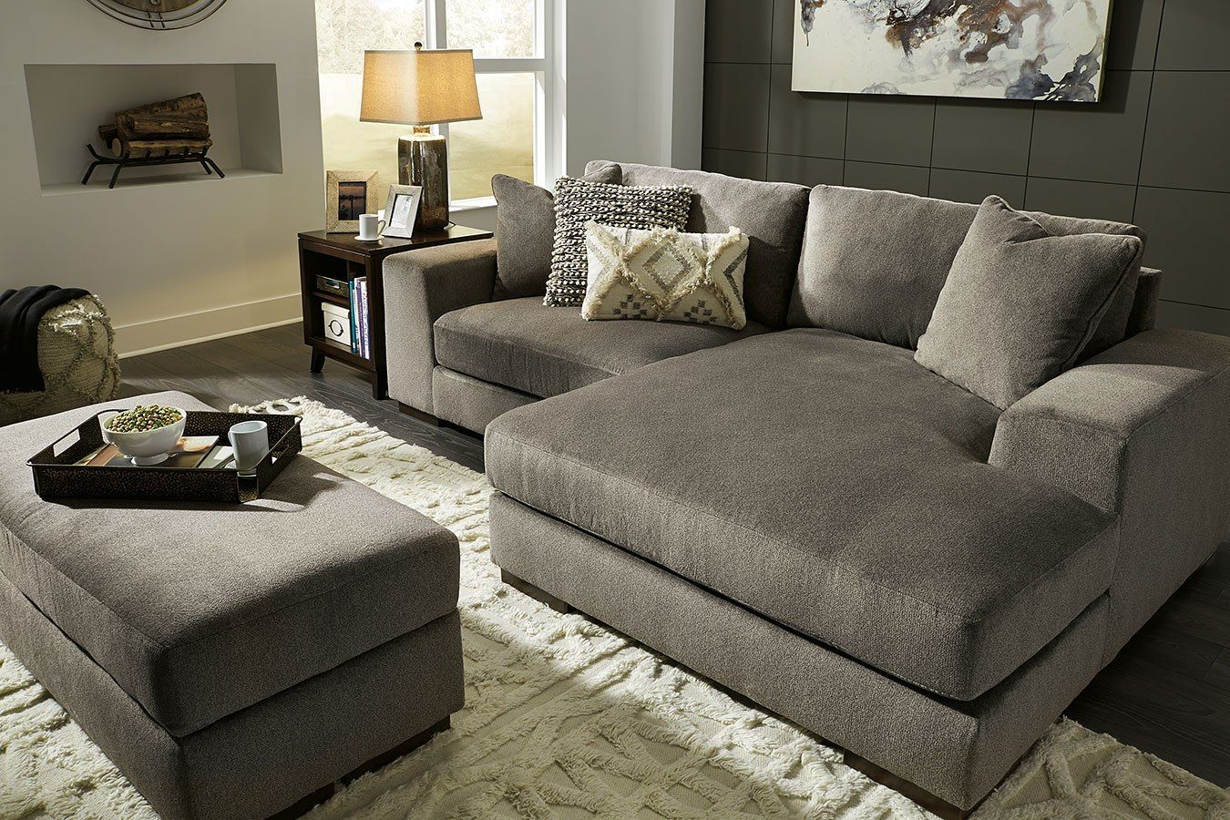 Manzani Graphite Sectional Living Room Set Signature Design In Living Room Sets The Manzani Sectional Living Room Sets Living Room Sets Living Room Sectional