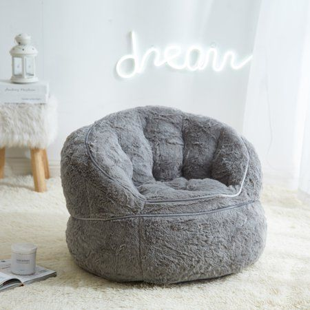 Home Learning Center In 2019 Bean Bag Chair Fur