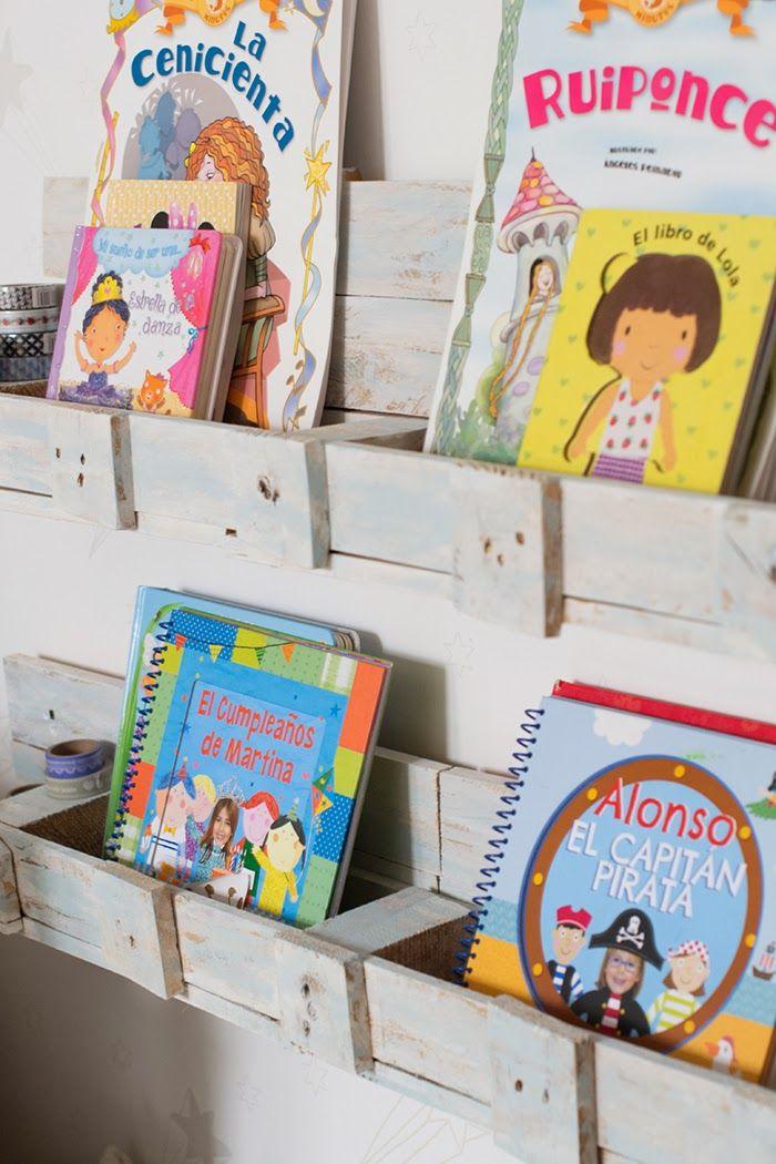 rincon de lectura, librerias de palets Pallets Pinterest