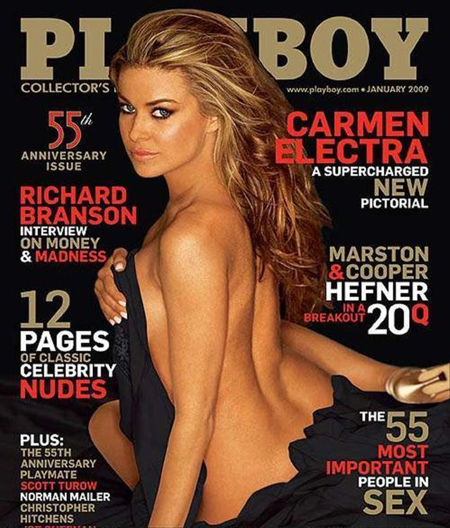 PLAYBOY  NEW & UNOPENED January 2009  Carmen Electra  Playmate Review