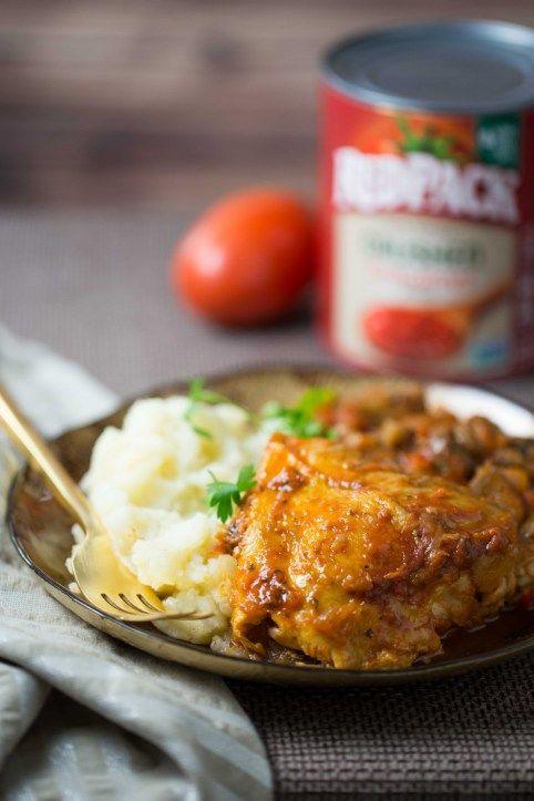 Tomato and Red Wine Braised Chicken