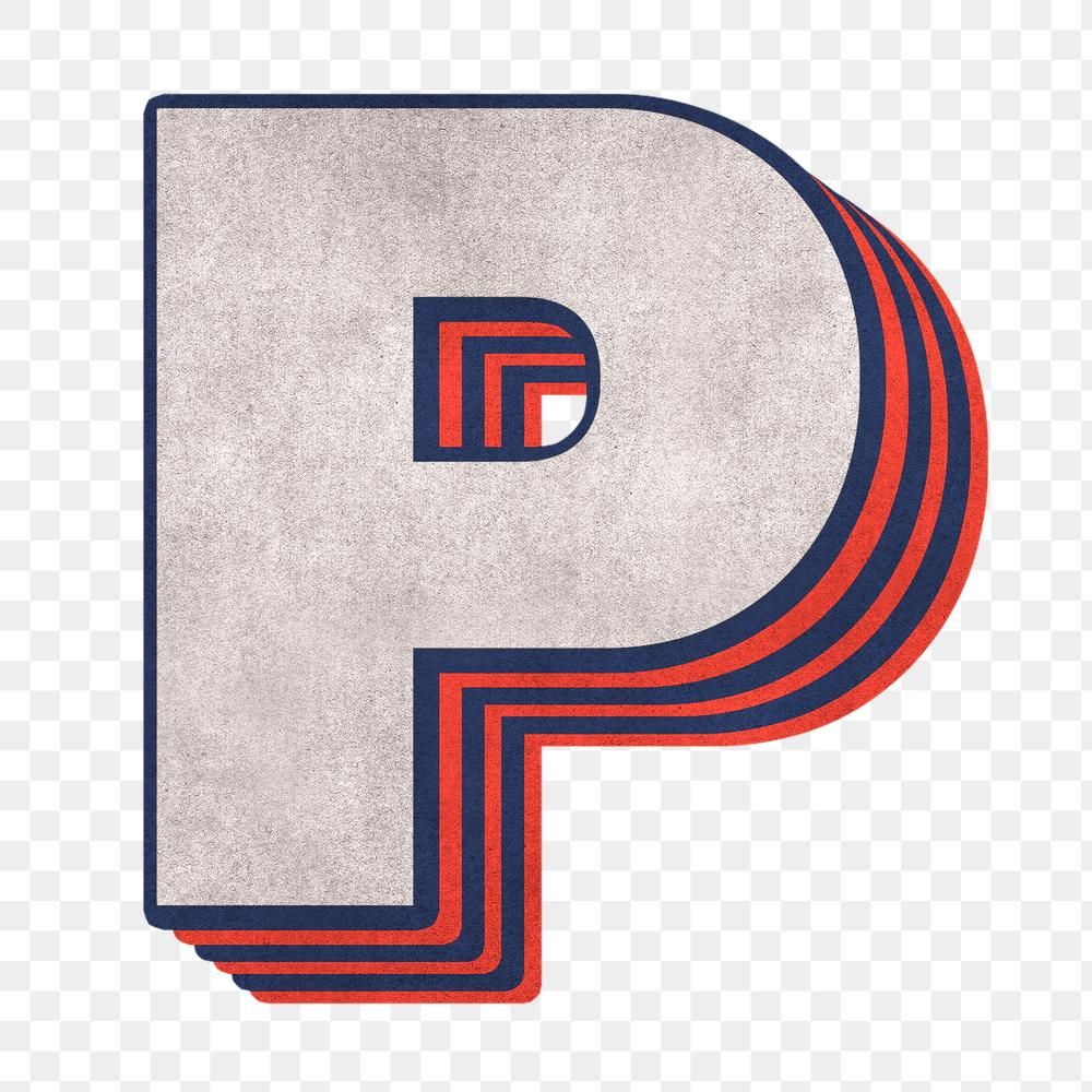 Letter P Png Layered Effect Alphabet Text Free Image By Rawpixel Com Cuz Lettering Alphabet Png