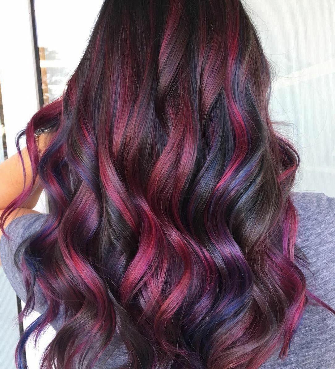 Rainbow Hair Colors Hair Colours Natural