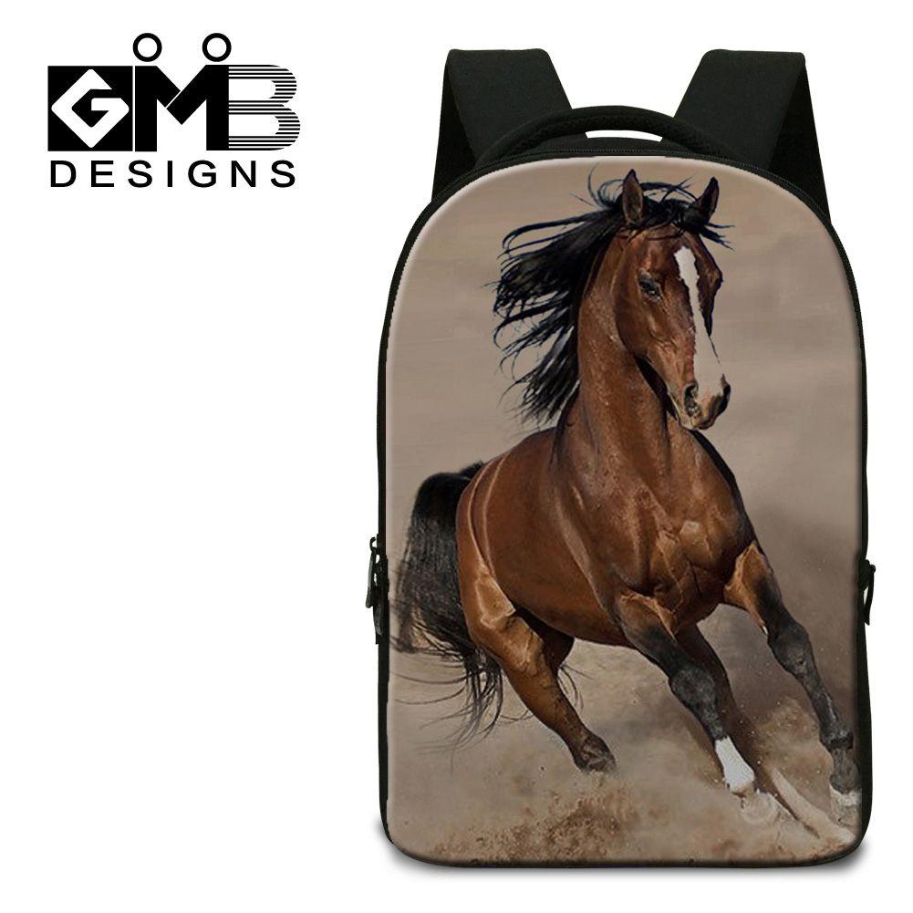 58adfbfaf0 Dispalang 3D plush horse laptop backpacks leisure school bags multifunction  men s travel bags practical daily backpack wholesale  Affiliate