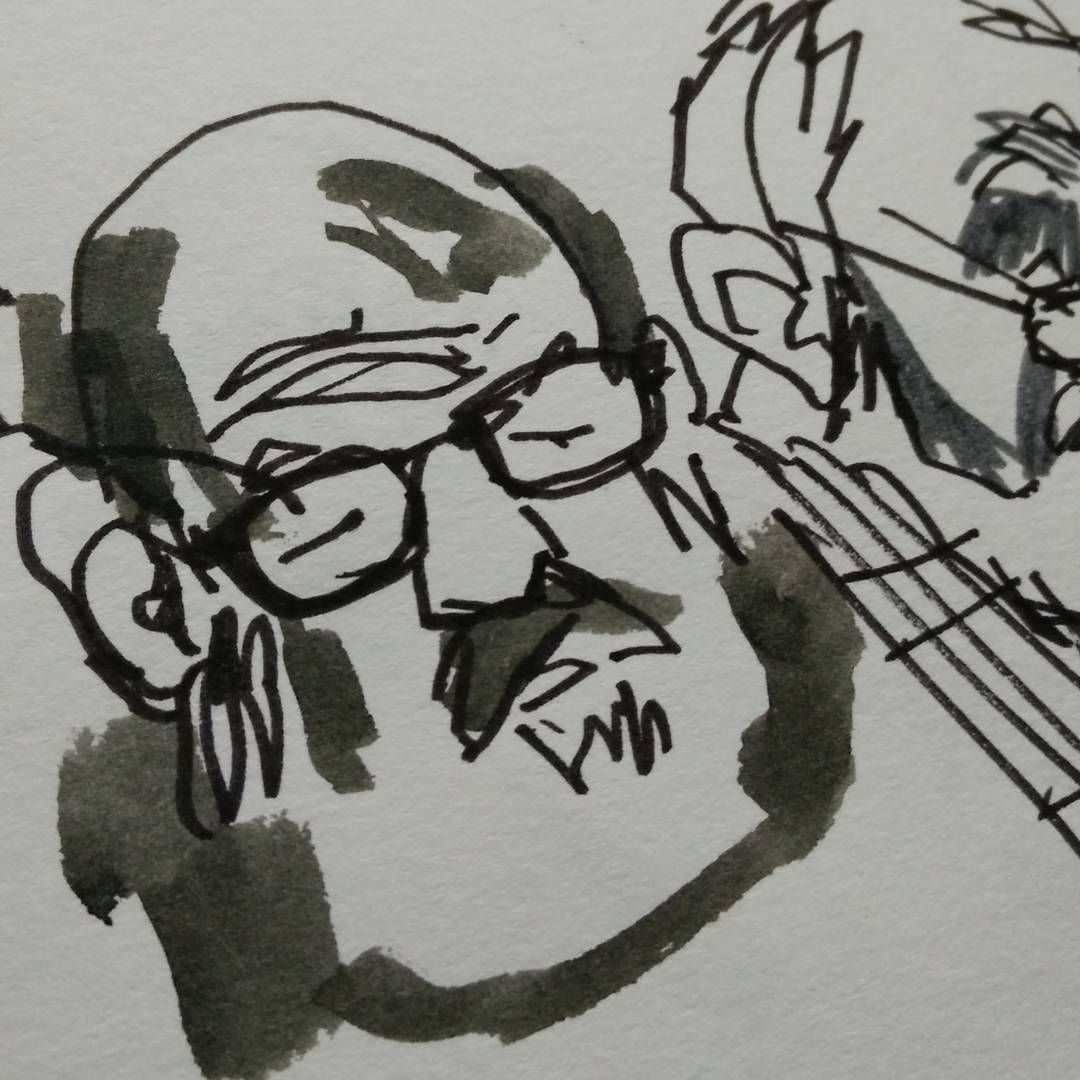 Croquis, sketch during 50th sketchcrawl.