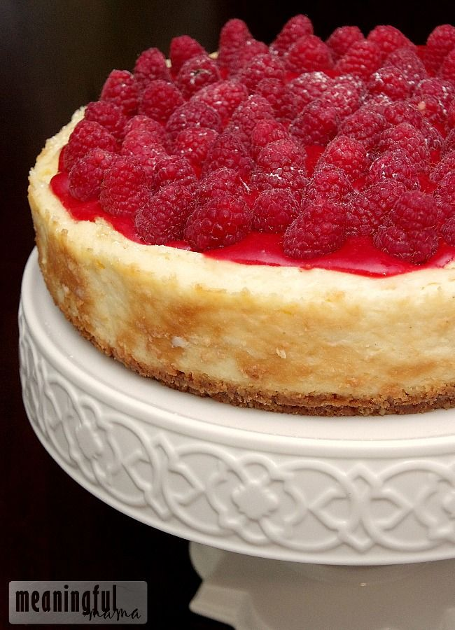 Amazing Raspberry Cheesecake Recipe - Great for every occasion!