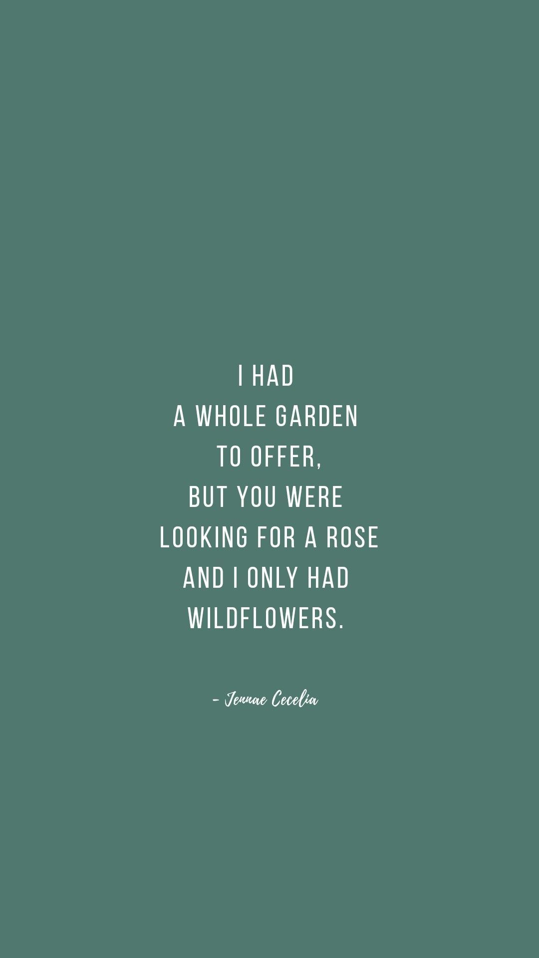 Garden Poetry Poem Quote Quotes About Strength Poem For Teens