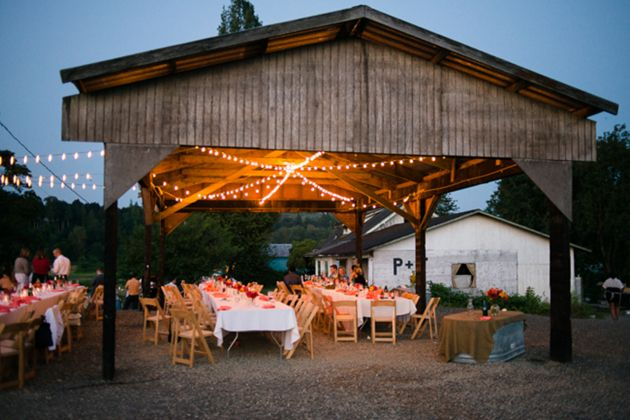 A Rustic Summer Wedding At Working Family Farm In Washington State