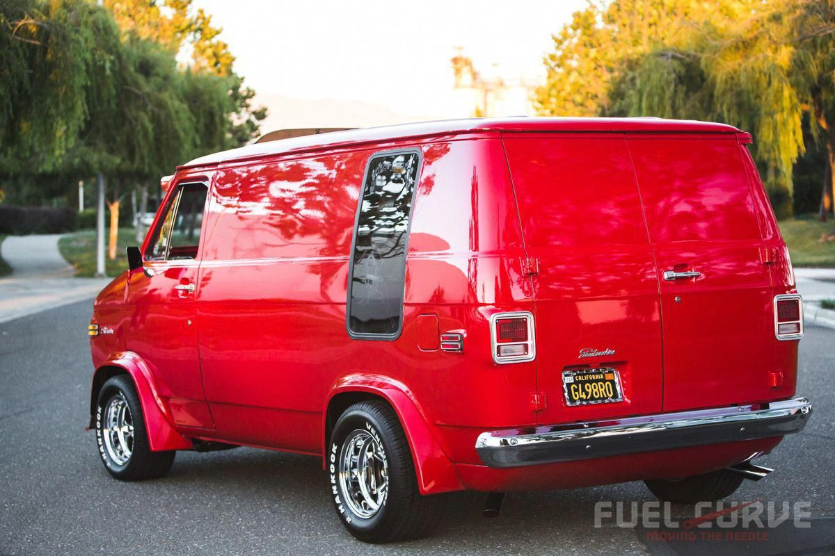Custom Trucks Parts Customtrucks Gmc Vans Chevy Van Custom Vans