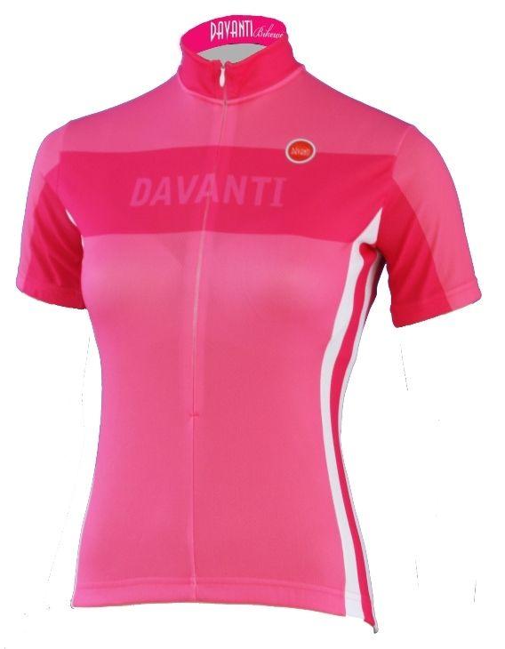 Davanti Bikewear Elena Pink women s cycling jersey  e39fd3cf7