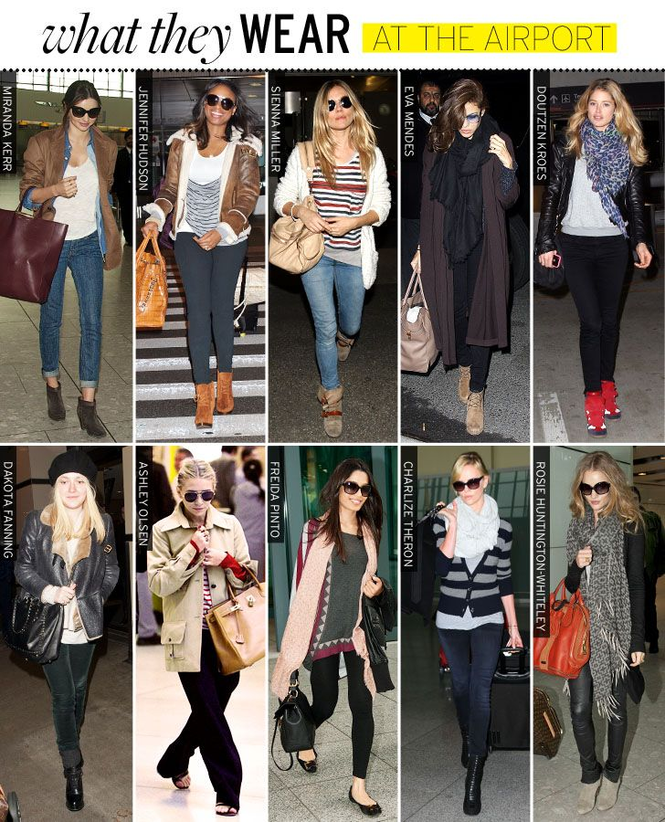 Love airport outfits. It such a great opportunity to show off your style and be comfortable.