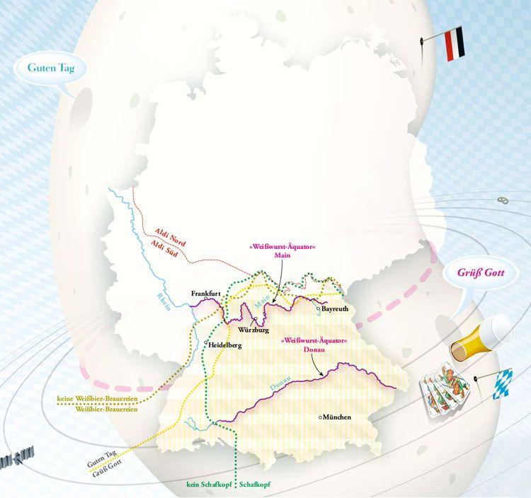 Germany's Equators