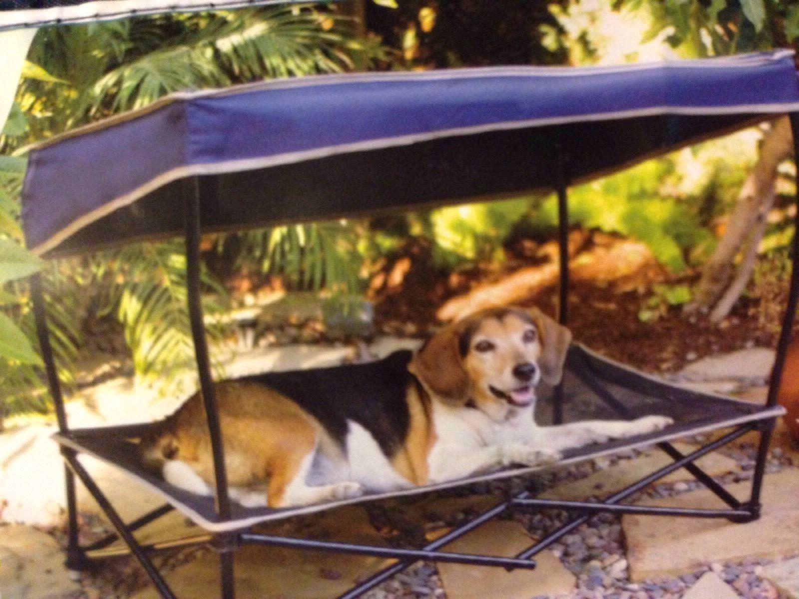 Dog Bed Canopy Sun Shade Medium 60 lbs Umbrella Folding