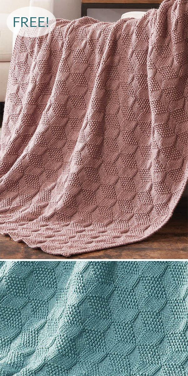 Trompe L'Oeil Optical Illusion Knitting Patterns #freeknittingpatterns