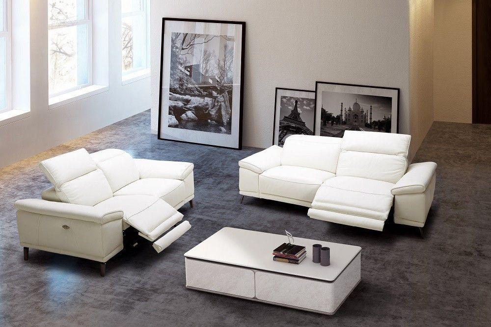 Gaia Premium Sofa Set Leather Sofa And Loveseat White Leather Sofas Premium Sofa