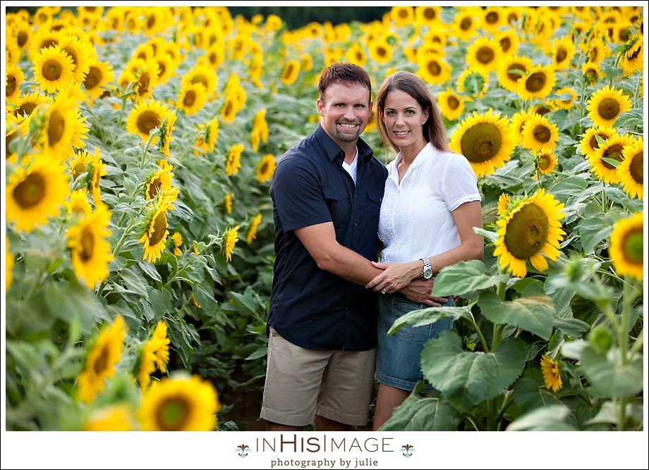 Diamond Family Sunflower Session