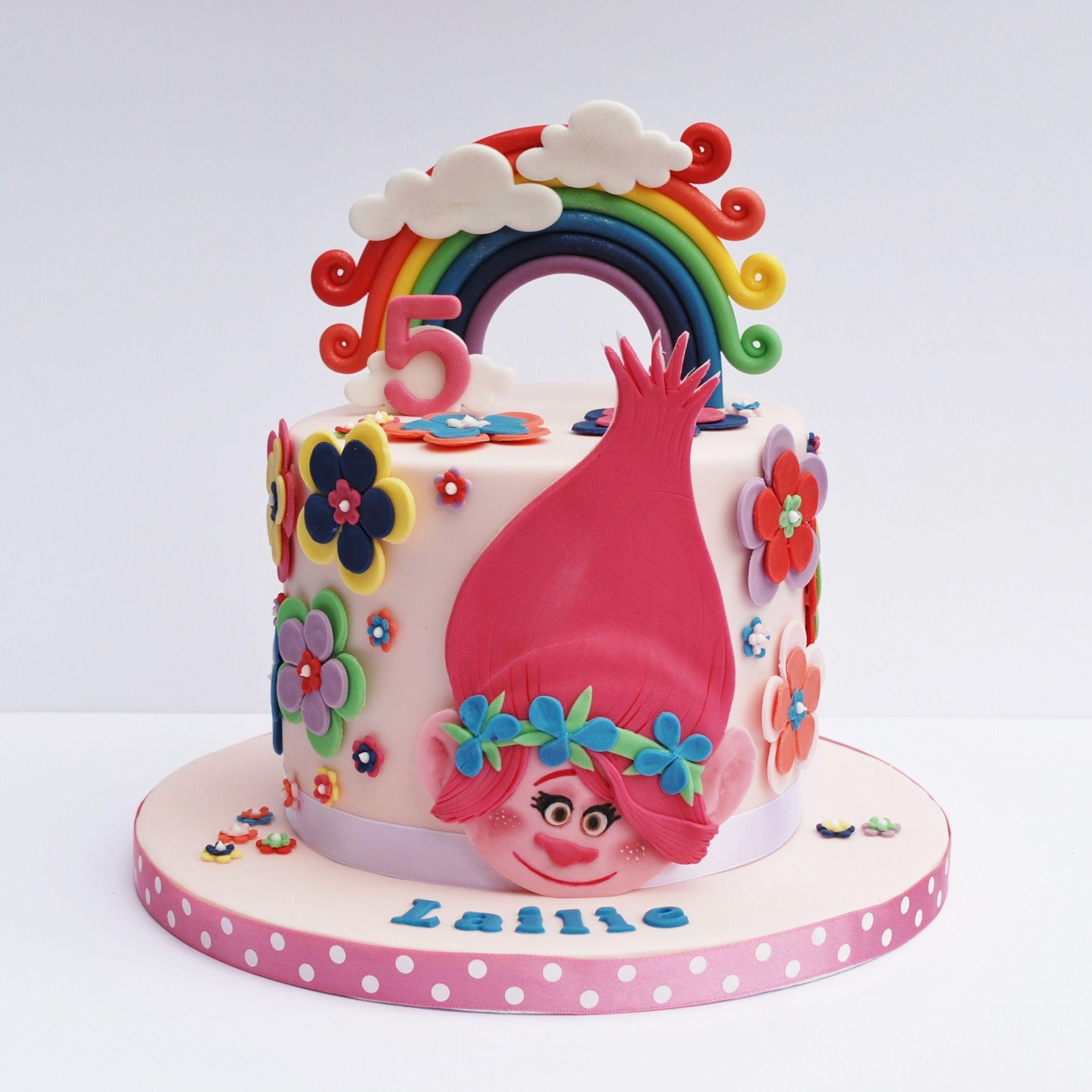 37 Trolls Cake Ideas Trolls Cake Cake Trolls Birthday