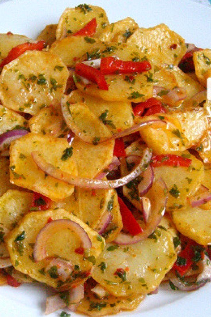 Photo of Fried Potato Salad Recipe # Fried Patatessalat-R …