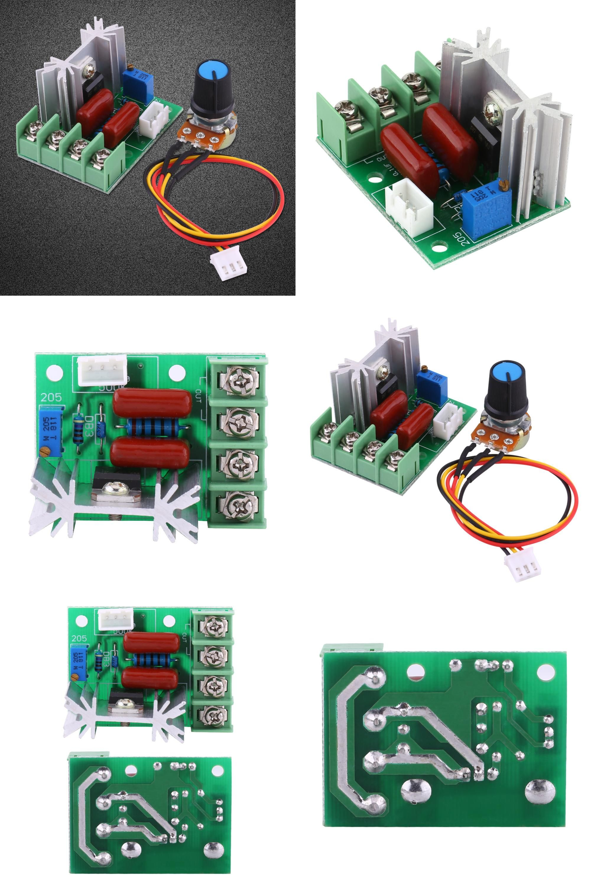 Visit To Buy 2000w Voltage Regulator 50 220v Ac Big Power Scr Motor Speed Picture Control Of Using Electric