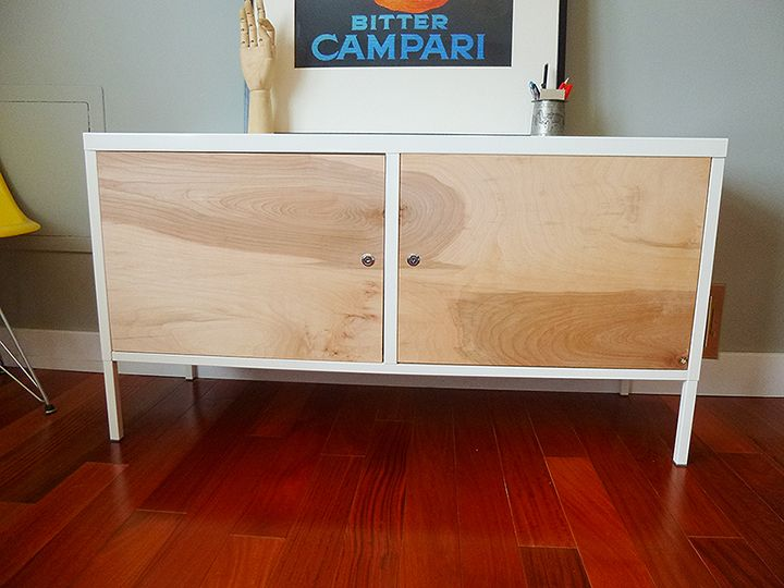 from ikea ps locker cabinet to upscale mid century credenza ikea hackers contemporary design. Black Bedroom Furniture Sets. Home Design Ideas