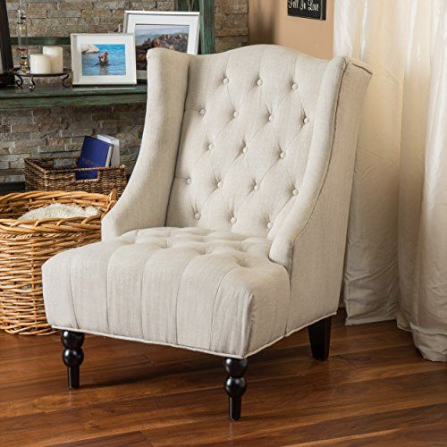 Clarice Tall Wingback Light Beige Tufted Fabric Accent Chair Great Deal Furniture http://www.amazon.com/dp/B00P2ZPKKS/ref=cm_sw_r_pi_dp_Og-yub15Z9VBM