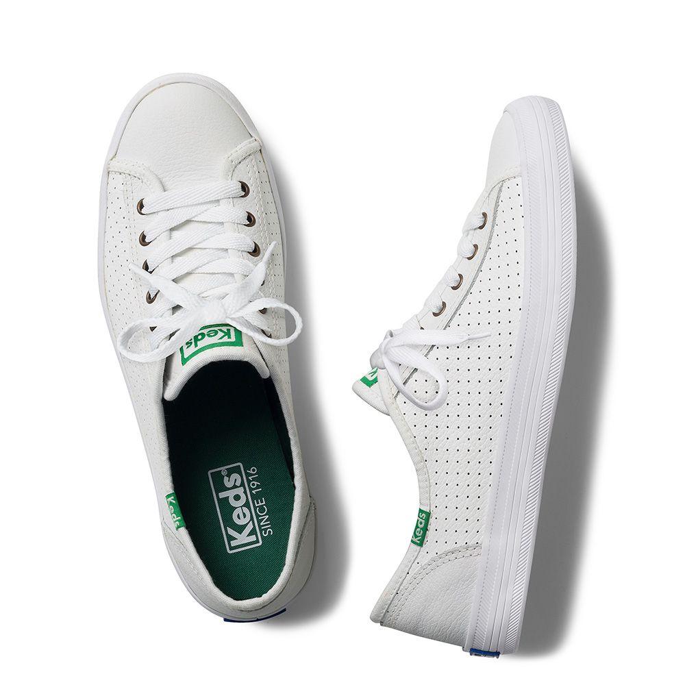 5ec0af5f02 Tênis Keds Kickstart Perf Leather Branco