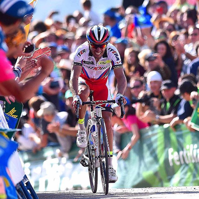 Joaquin Rodriguez wins stage 15 of Vuelta a España 2015 : @tdwsport
