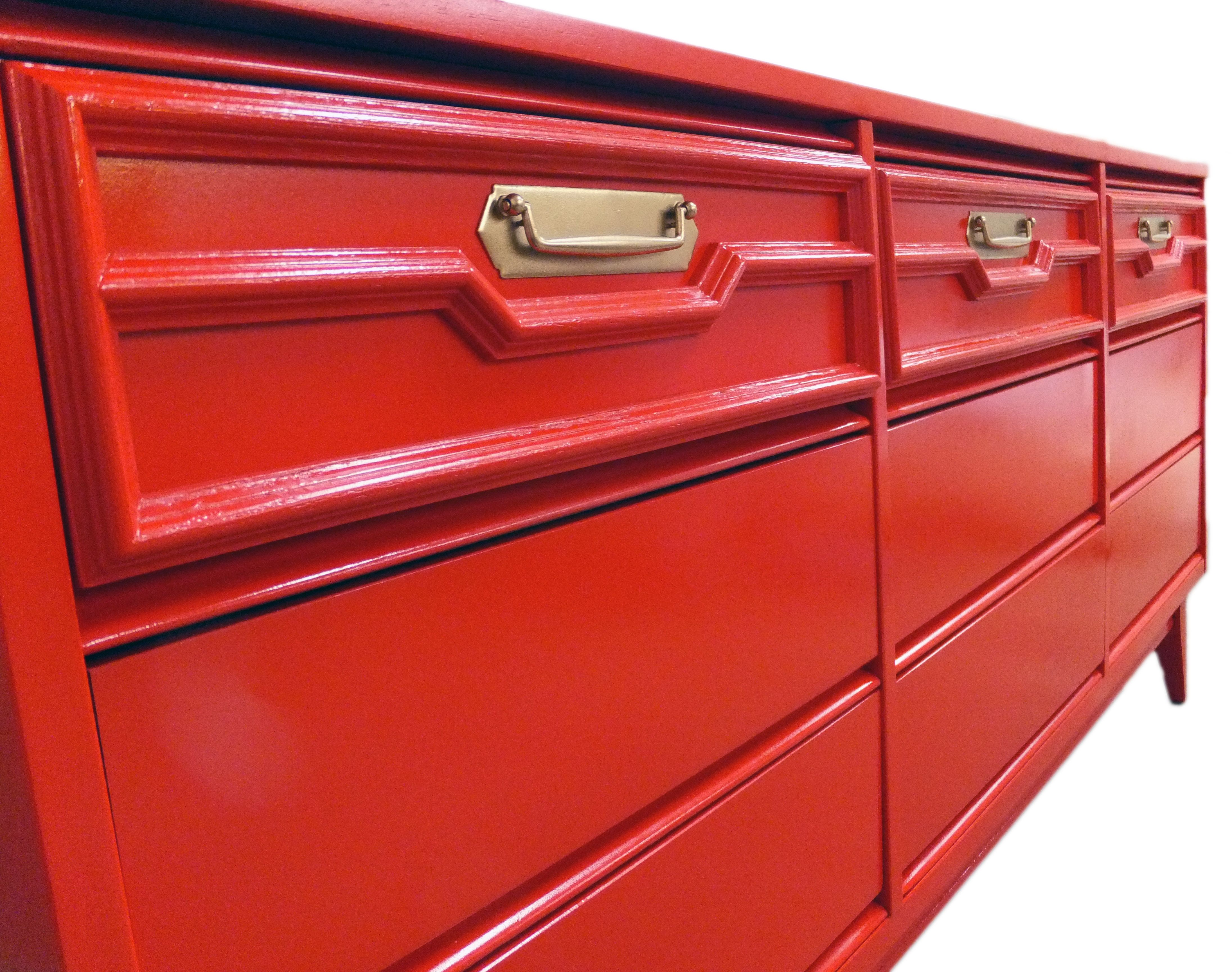 diy lacquer furniture. Amy Howard At Home Brisson Red Lacquered Chest #diy Www.rescuedfurnishings.com/ Diy Lacquer Furniture M