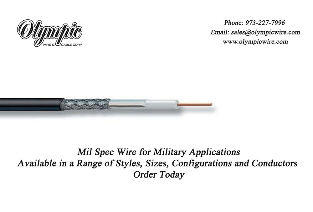Mil Spec Wire for Military Applications Available in a Range of ...