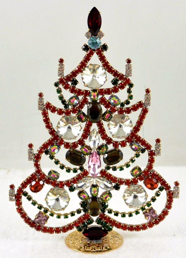 "Beautiful Czech Handmade Christmas Tree Decoration Signed ""Taboo"" A 172   eBay"