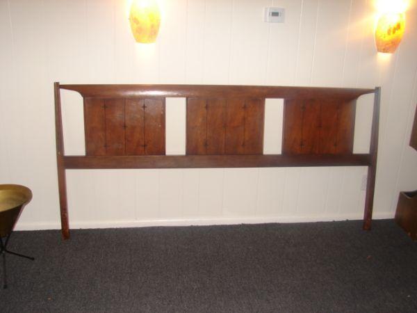 Broyhill Saga King Size Headboard 75 In Fort Collins King Size Headboard Mid Century Furniture Broyhill