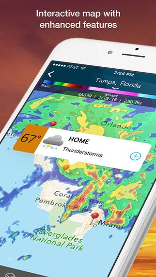 iPhone Screenshot 2 weather Pinterest Apple TV, App store and - new apple app world map