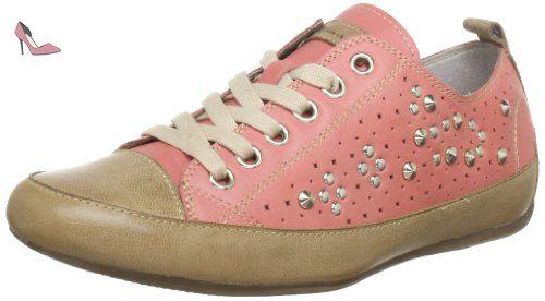 Tamaris Active 1-1-25238-21, Baskets mode femme - Marron (Mud/Pepper), 36 EU