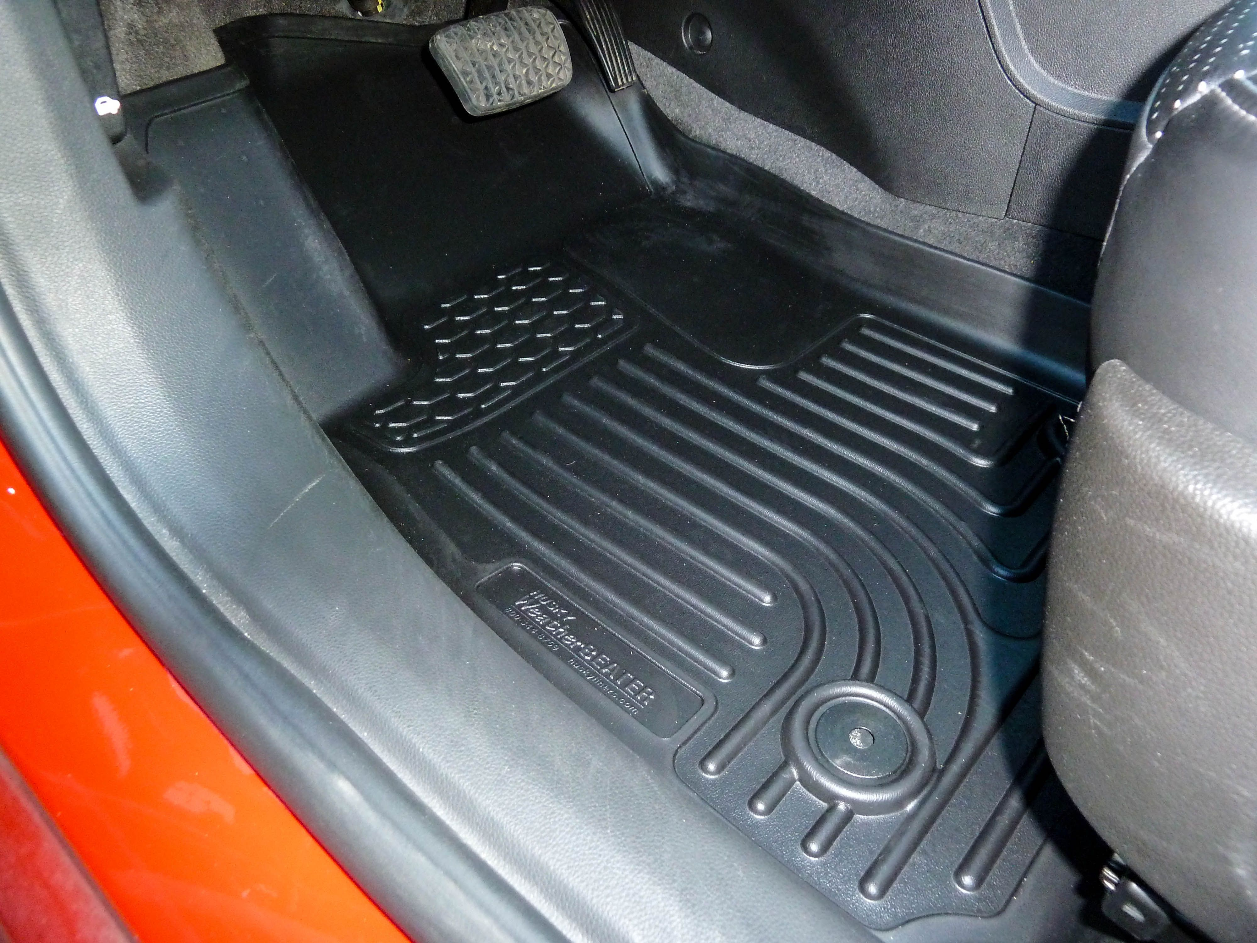 floor img the mustang husky source ford weathertech vs liners forums