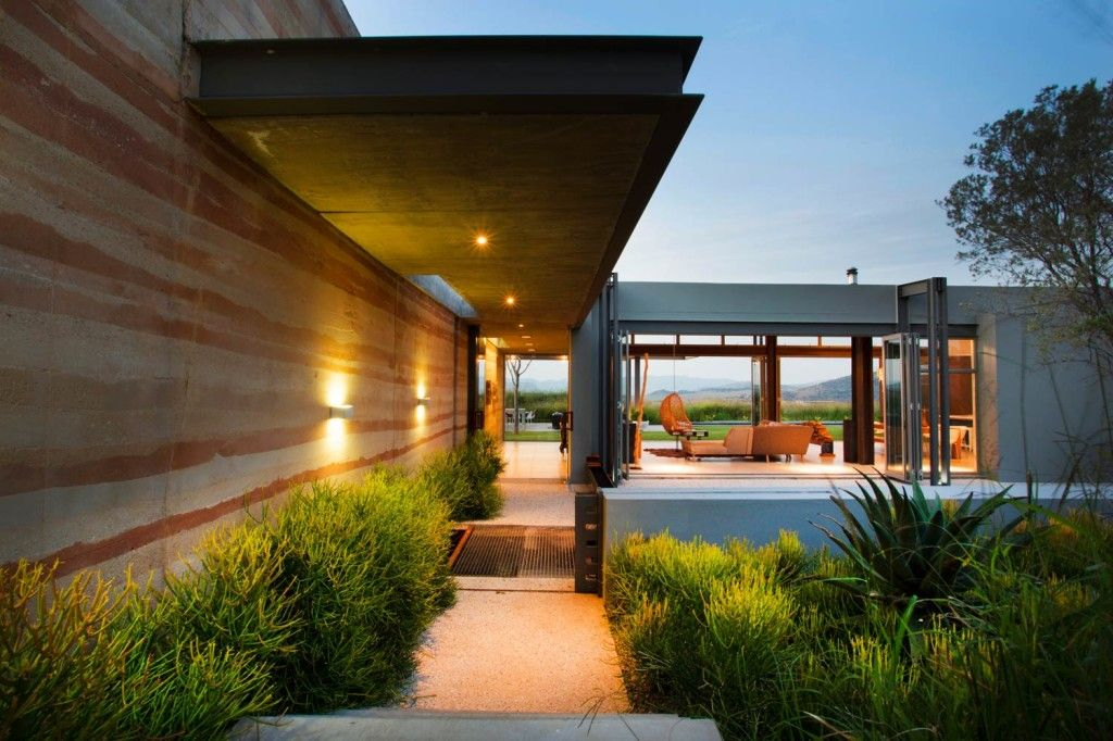 Modern residential entryways   view through entry #architecture ...