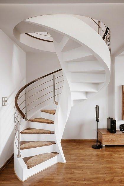 Apartamento moderno en sosnowiec conceptgroup cool - Diseno de escaleras interiores ...