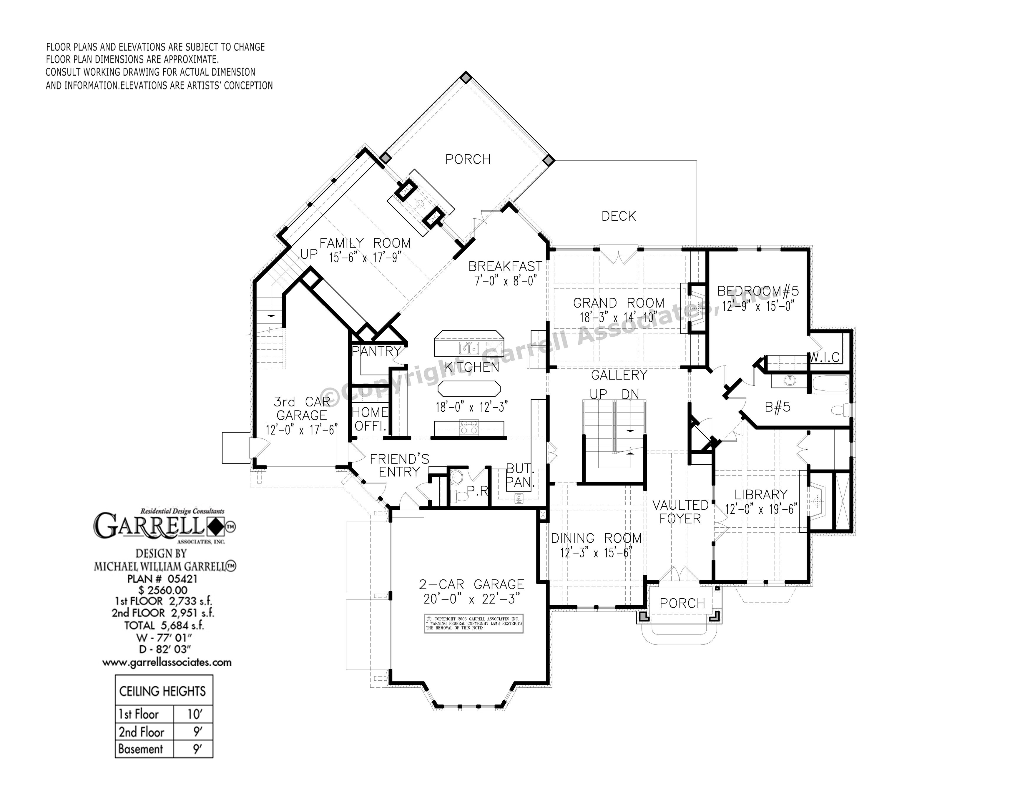 Flemish Manor House Plan 05421 Garrell Associates Inc House Plans How To Plan Floor Plans