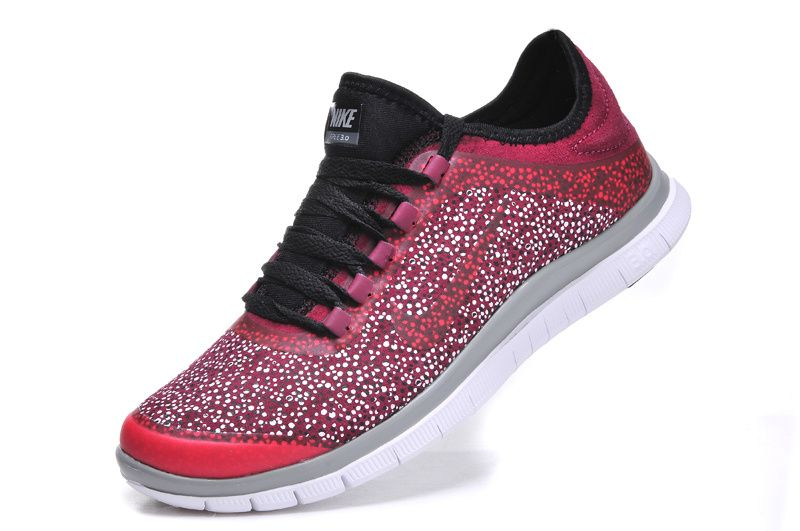 cheaper c33aa 8a4e4 Nike Free 3.0 V5 EXT Mens Red Burgundy Black 579828 600 . cheap red