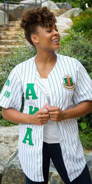 Alpha Kappa Alpha Baseball Jersey | everything AKA & pink