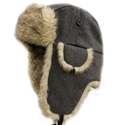 City Hunter W300 Wool Premium Solid Trapper Hats Multi Colors One Size 1261658cbccc