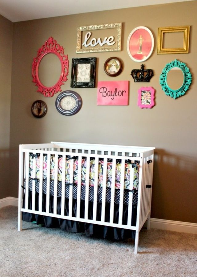 Nursery Idea And More Picture Frames With Images Baby Girl