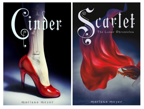 Cinder and Scarlet - the first two books in the series