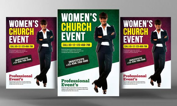 Conference Flyer Template Buy Women Of Virtue Conference Flyer