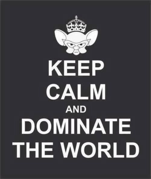 And domination pinky world the brain