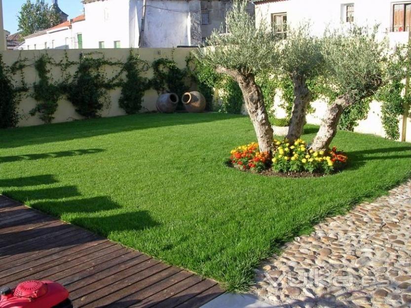 Fotos de jardines casas modernas 1 jardines pinterest for Modelos de jardines sencillos