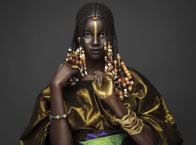 Khoudia Diop is a Senegalese Queen in stunning photoshoot
