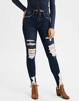 3025744e9b8 AE Denim X Super High-Waisted Jegging in 2019