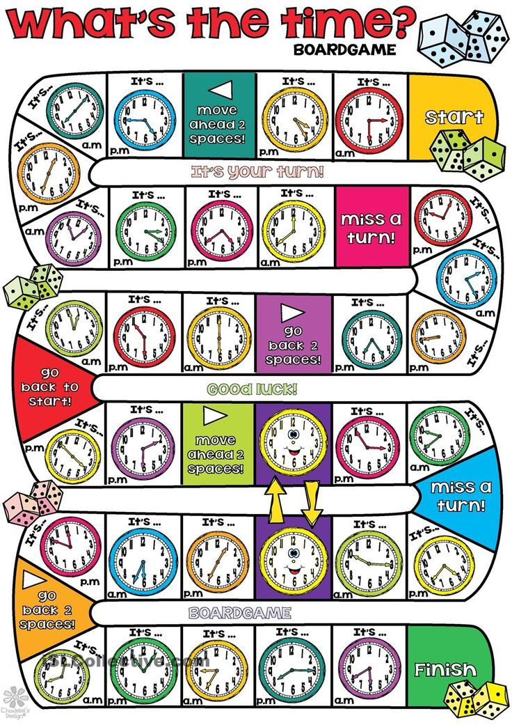 Whats the time BOARDGAME | Maths Fun for Kids | Pinterest | Maths ...